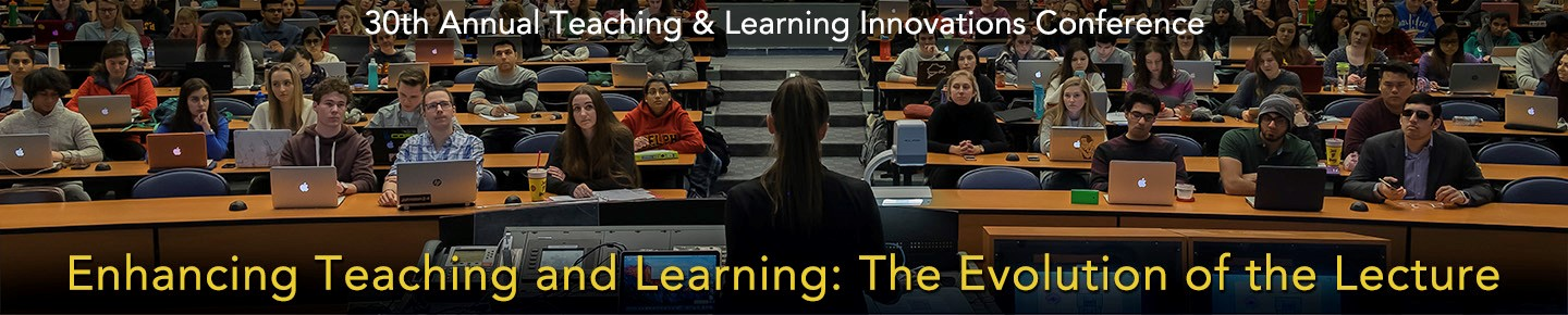 TLI Banner: Enhancing Teaching and Learning: The Evolution of the Lecture