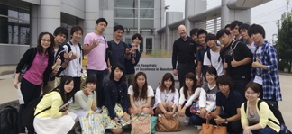 Group of English Language Program students.