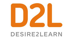 D2L- Desire to Learn logo as a gold sponsor.
