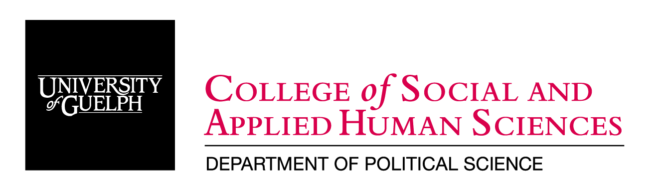 University of Guelph Political Science logo.