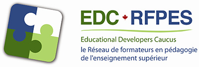 EDC Educational Developers Caucus logo.